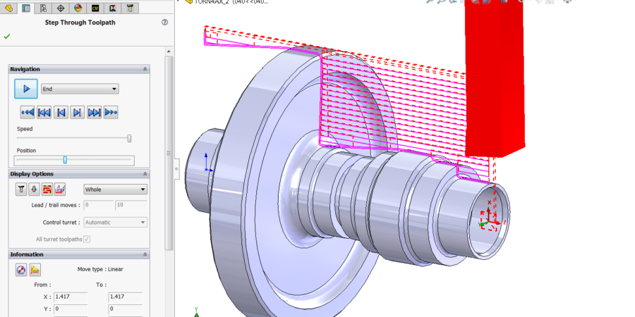 Turn Rough and Finish Toolpaths Control